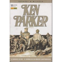 Ken Parker nr. 11/2004- Il giudizio di Dio, Il giorno in cui bruciò Chattanooga (ottimo)