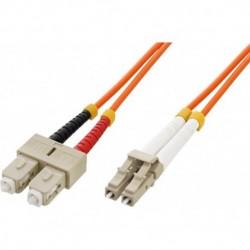 Cavo fibra ottica SC/LC 50/125 Multimodale 2 m OM2