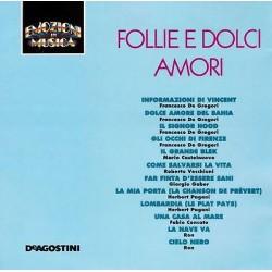 CD EMOZIONI IN MUSICA (De Agostini IT 9145/46) -  FOLLIE E DOLCI AMORI