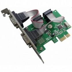 Scheda PCI Express Seriale 2 Porte DB9 M