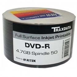 DVD-R TRAXDATA PRINTABLE 4.7GB 120MIN. confezione da  50