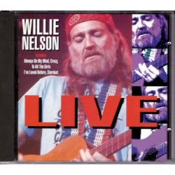 CD WILLIE NELSON - LIVE