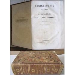 Enciclopedia Italiana e Dizionario della conversazione, Vol. 4 (BA-BY) - 1841