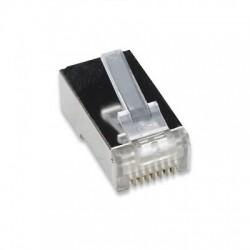 Confez. 10 Plug cat. 5E RJ45 per cavo STP