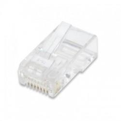 Confez. 10 Plug cat. 5e RJ45 per cavo UTP flessibile