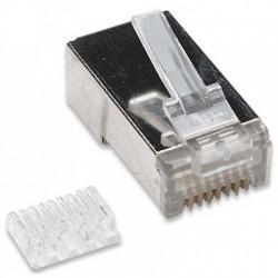 Confez. 10 Plug cat. 6 RJ45 per cavo STP cat. 6