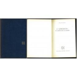 Riccardo Bacchelli, L'Afrodite: un romanzo d'amore (1969) Club Degli Editori