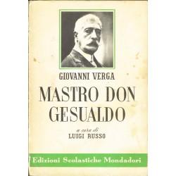 Giovanni Verga - Mastro don Gesualdo, a cura di Luigi Russo (1969)