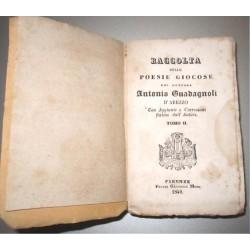 Antonio Guadagnoli d'Arezzo, Raccolta delle poesie giocose (1840) Moro