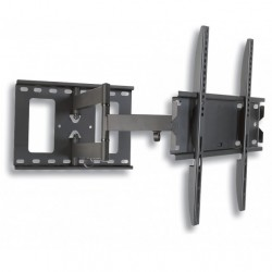 """STAFFA A MURO FULL MOTION SLIM Estensibile FINO a 50 cm. per TV LED/LCD DA 32"""" A 55'' VESA max. 400x400"""