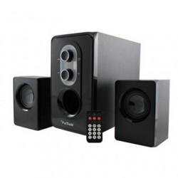 Sistema Speaker Stereo 2.1 con Subwoofer potenza 150W Max., con lettore USB-SD e radio FM