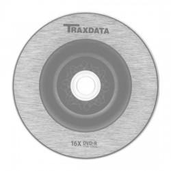 DVD-R TRAXDATA 16x 4.7GB 120MIN. confezione da  50