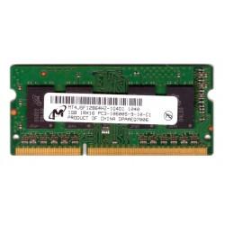 MEMORIA RAM SODIMM DDR3 1GB 1333mhz Micron 1Rx16 PC3-10600s-9-10-C1 per NOTEBOOK