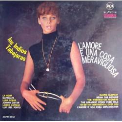 SOLO COPERTINA SENZA DISCO-LOS INDIOS TABAJARAS, L'amore è una cosa meravigliosa (1965)