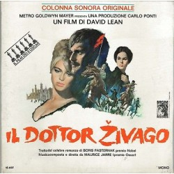 SOLO COPERTINA SENZA DISCO-IL DOTTORI ZIVAGO, COLONNA SONORA(1966) MAURICE JARRE