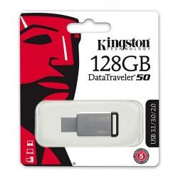 MEMORIA FLASH PEN DRIVE DATA TRAVELER USB 3.0 64GB KINGSTON DT50/128GB