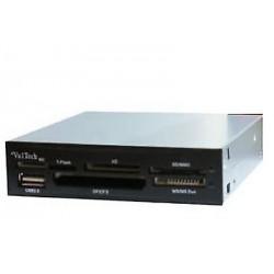 CARD READER LETTORE USB 2.0 SCHEDE MEMORIA 54 IN 1 FINO A 32 GB