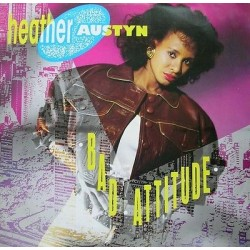 "HEATHER AUSTYN - Bad Attitude (UK 1989 URBX 33 (871 769-1) Single 12"" 45 giri"