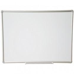 Lavagna magnetica bianca 90x180  cm Cornice in alluminio