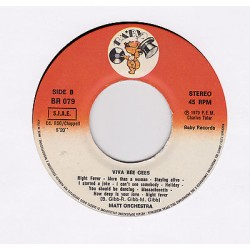 45 giri MATT ORCHESTRA - Viva Bee Gees / Nightime (1978)