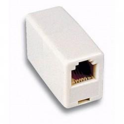 Accoppiatore per prolunga cavo telefonico RJ11 6P4C Pin to Pin F/F