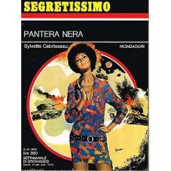 Collana Segretissimo Mondadori, nr.427 - Pantera Nera - 1972