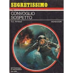 Collana Segretissimo Mondadori, nr.178 - Convoglio sospetto - 1967