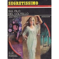 Collana Segretissimo Mondadori, nr.322 - Sul filo del coltello - 1970