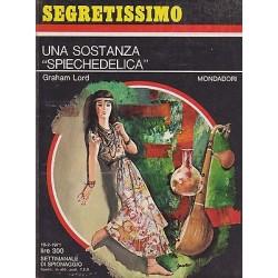 Collana Segretissimo Mondadori, nr.377 - Una sostanza spiechedelica - 1971