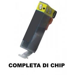 CARTUCCIA COMPATIBILE CANON CLI-521GY XL GRIGIO