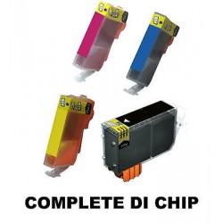 CARTUCCE COMPATIBILE HP 364 XL KIT  4  COLORI