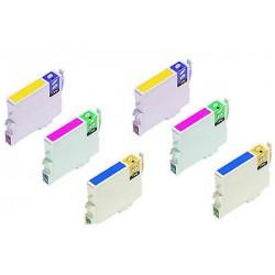 CARTUCCE COMPATIBILI EPSON SERIE T1280 KIT 6 Colori (taglia M) Volpe