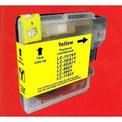 CARTUCCIA COMPATIBILE   BROTHER LC980Y/LC1100Y GIALLO