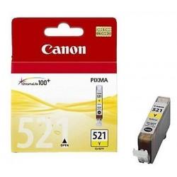 CARTUCCIA ORIGINALE CANON CLI-521Y GIALLO