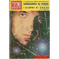 Cosmo, i capolavori, nr.31 -Avanguardia su Venere /I giorni di Uskad - 1964