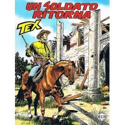 TEX NR. 566 UN SOLDATO RITORNA (2007) Bonelli
