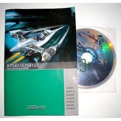 DRIVER CD + MANUALE ASROCK K7S41/K7S41GX