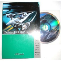 DRIVER CD + MANUALE ASROCK WOLFDALE 1333-GLAN/M