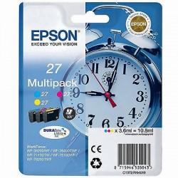 MULTIPACK ORIGINALE EPSON 3 COLORI 27 (Sveglia) C13T27054010