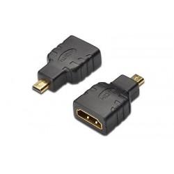 ADATTATORE HDMI FEMMINA/MICRO HDMI TIPO D MASCHIO