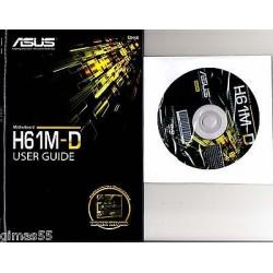 DRIVER CD + MANUALE ASUS H61M-D