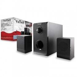 Sistema Speaker Stereo 2.1 con Subwoofer potenza 150W Max.