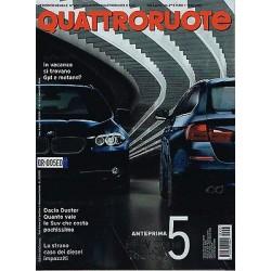Quattroruote 657-2010 Dacia Duster-Ford S-Max-Wolksvagen Touareg-Honda CR-Z