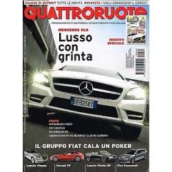 Quattroruote 664-2011 Mercedes CLS350-Mitsubishi iMIEV-Hyundai ix20-Abarth Punto
