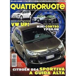 Quattroruote 671-2011 Citroen DS4-Nissan 370z Roadster