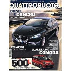 Quattroruote 682-2012 Fiat 500L-Volvo V40-Tata Aria-Audi A7-BMW Gran Coupè
