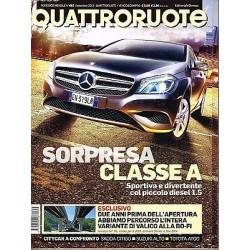 Quattroruote 683-2012 Mercedes A180 CDi-Chevrolet Cruze-Dacia Lodgy-Skoda Citigo