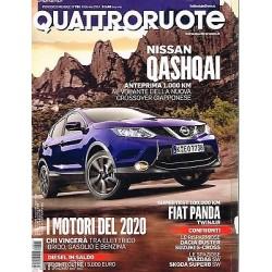 Quattroruote 701-2014 BMW X5-Dacia Duster-Suzuki S Cross-Mazda 6-Nissan QASHQAI