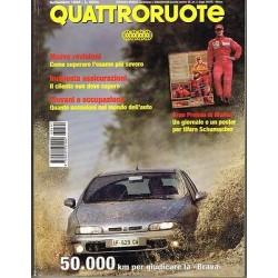 Quattroruote 491-1996 Gran Premio Monza-Bmw 318 TDS e 520i 24v-Golf TDI GT