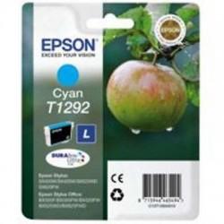 CARTUCCIA ORIGINALE EPSON T1292 CIANO MELA  C13T12924011